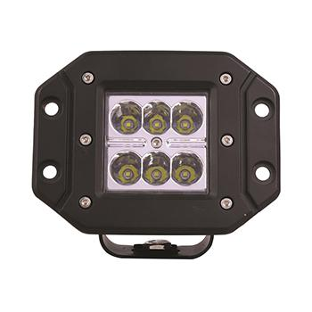 18W Flush Mount LED Work Light