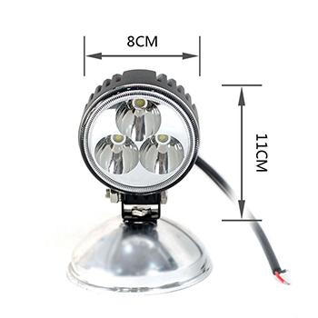 9W 3 Inch Round LED Work Light