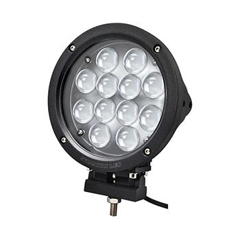 60W Round 7 Inch LED Driving Light with 12 Cree LEDs