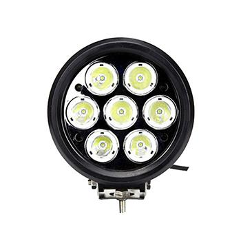 70W Round 6 Inch LED Driving Light with 7 Epistar LEDs